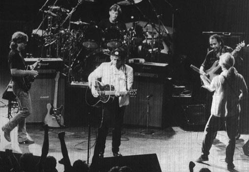 courtesy Dylan, ?, ?, G.E. Smith, and Tony Garnier